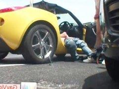 Blond dude gets pooper hammered in car part2
