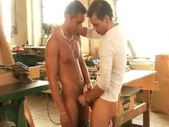 Wood workers having sex part1