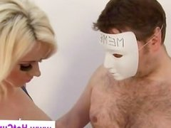 Trio of dirty bitches get all they can handle for femdom session