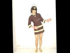 Hong Kong lesbian bondage slave Boylady Shirley's dresses