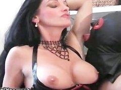 Juggs Carmen in great dirty bondage part3