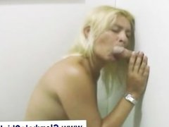 Amateur gloryhole fetish girl blowjob