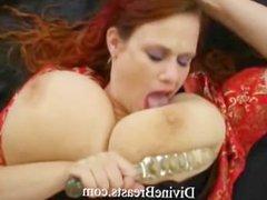 Lactating Big Tits Milk Squirting