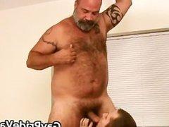 Hairy gay bear fucking sext part1