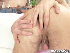 Duke jerking his nice firm gay cock part6