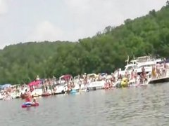 PARTY COVE NAKED ON THE WATER - Scene 4