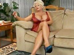 Claudia Marie Smoking