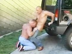 Bald Dude Impales Hard Syud