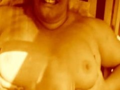 squirt of cum by Hank on Natali