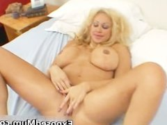 Huge tits mom in thong fingering her part5