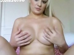 Hot Blonde Wih Perfect Tits On Webcam