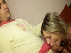 Patricia fucked in a threesomes