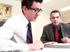 Seth Roberts suck and fuck in office part1