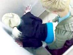 Teen Slut Getting Fucked in a Public Toilet - @Seductive_Sluts