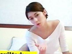 Nice boob girl on webcam
