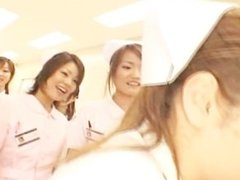 Asian nurses in a hot gangbang part3