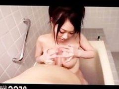 big tits masseur taking bath sex