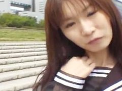 Free jav of Mikan Lovely Asian student part3