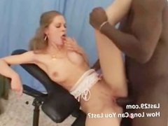 kelly loves a black cock inside her ass