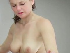 Beautiful babe with amazing tits gets part4