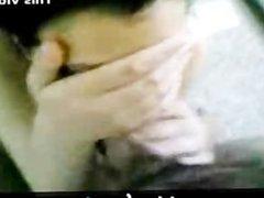 Fair Arabian Girl sucks 4 inch hard Arab Dick in Muslim Paki Porn