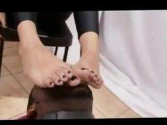 Pakistani Begum Foot Worship by Big Black Dravidian South Indian