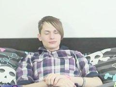 Cute gay emo teen wanking part3
