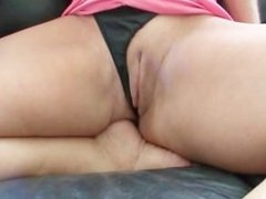 Mature babe licking chubby cunt