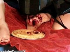 Two amazing twinks having fun with a pie part5