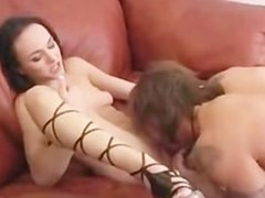 squirting out a creampie