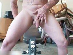 Secret Weight Lifting Fag free gay porn part3