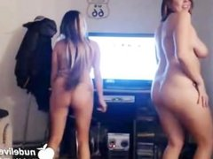 The World Famous Gangnam Style Naked and Nude Dancing