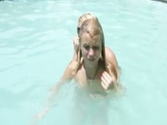 Casey Parker gets hardcore fuck In The Pool