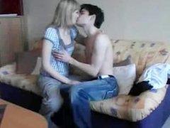 Sweety Blonde Girl Loves Dick