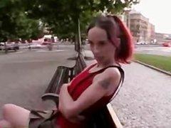 Rampaging hottie sucks and fucks