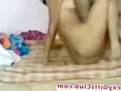 Desi Horny Indian Girl Dont Know How To Fuck