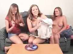 Mia, Ashley and Ashton Play Strip Jester