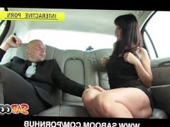 Simona Styles gets Fucked POV in a Limo