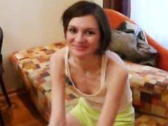 Homemade girlfriend Natasha at hotel