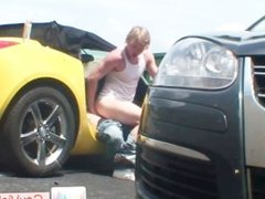 Blonde guy getting arse hammered part6