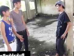 Gay asians in threesome porn video part2