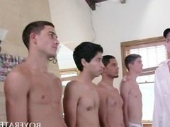 Gay fresher sucking shafts for fraternity