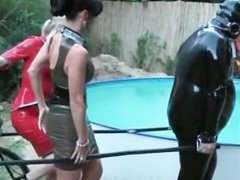 Dirty Carmen in hard-core s&m bdsm part3