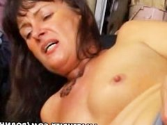 Amateur wife anal and blowjob with facial cumshot