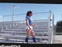 Sexy female football player part2