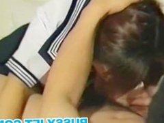 nasty teen asian whore handjob &cumshot scene