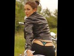 Biker Babe Monica Born To Be Wild