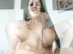 Diamond Kitty Nude and fucking on Miami Beach