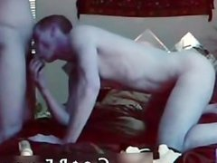 Brunette Guy Sucks Partner's Dick And Gets Ass-fucked 1 part1