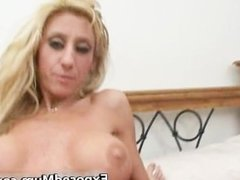 Knockers mum fingers fornicates her part6